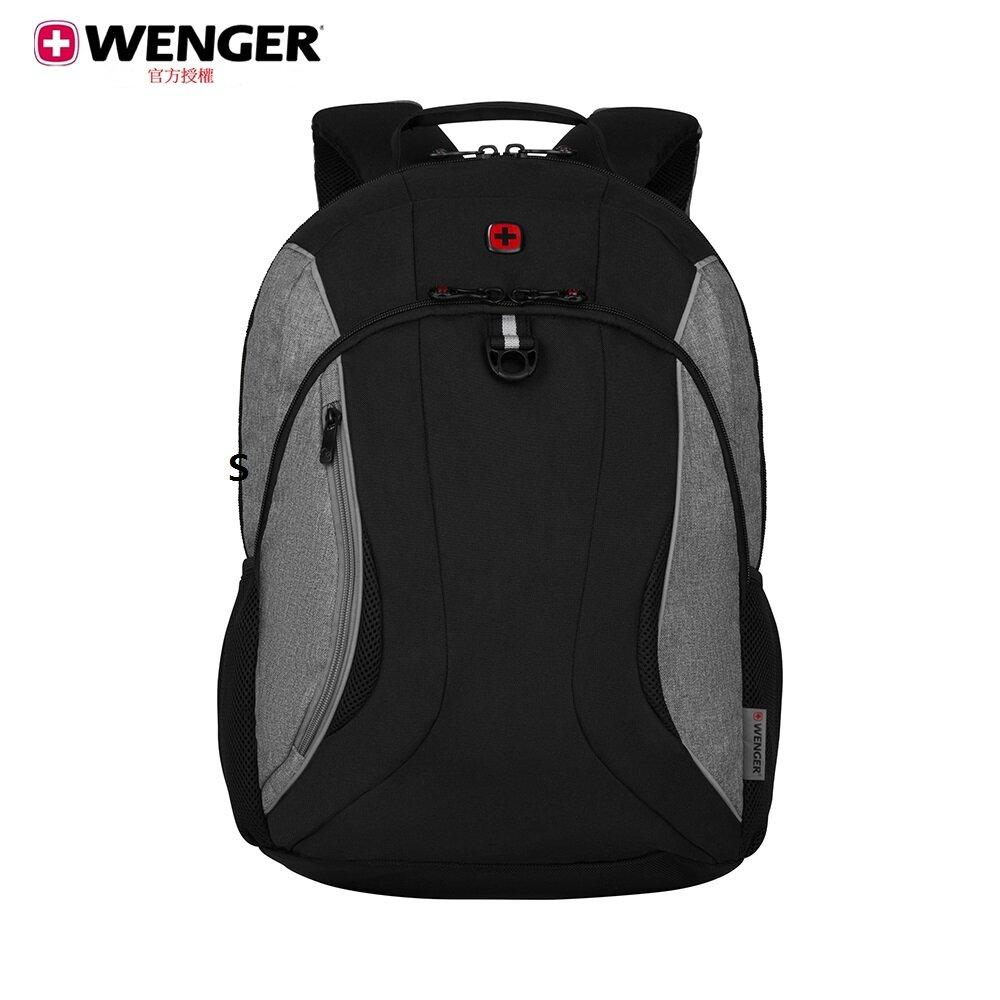 WENGER Back To School 16吋電腦 後背包 / 黑灰 611673