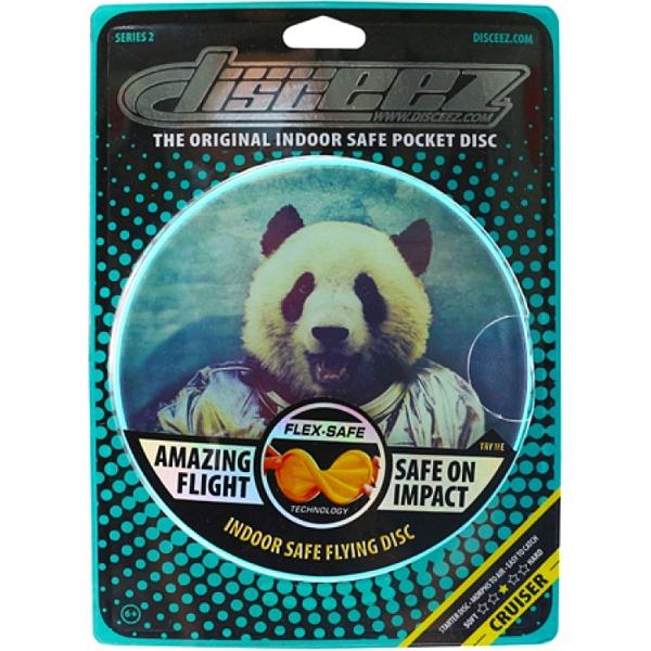 DISCEEZ 同行飛碟 室內飛盤 S2-6 SPACE PANDA 太空熊貓