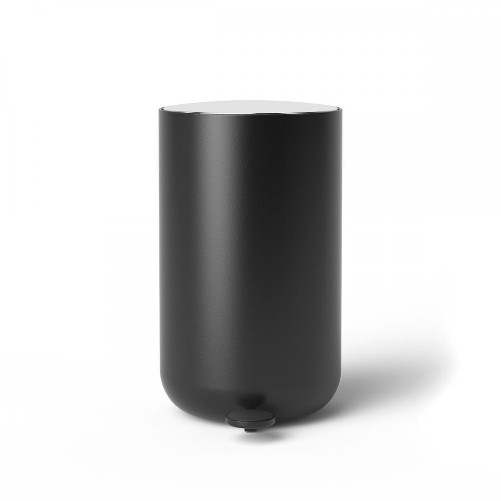 Menu Pedal Bin 11L, Norm 衛浴系列 踩踏式 垃圾桶 中尺寸(霧黑色)