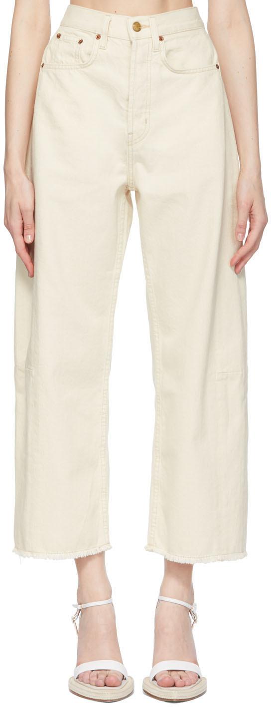 B Sides 灰白色 Plein Lasso 牛仔裤