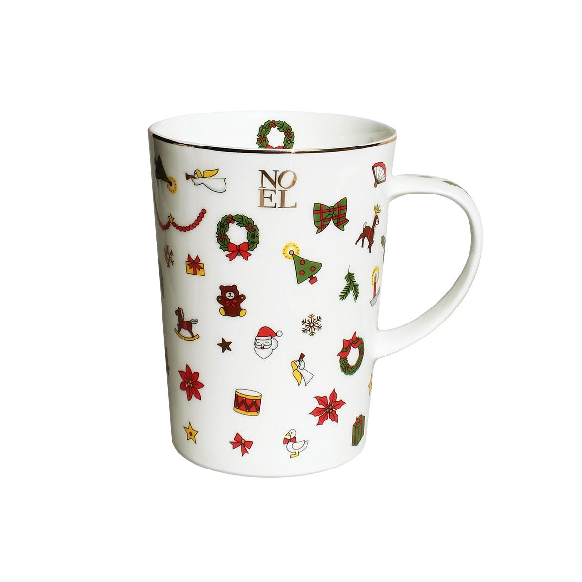 Set of 2 Mugs - Noel Oro Collection