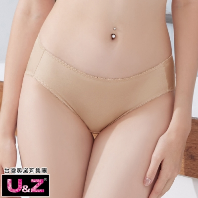 推U&Z-素面相伴 中腰三角褲(零感膚)