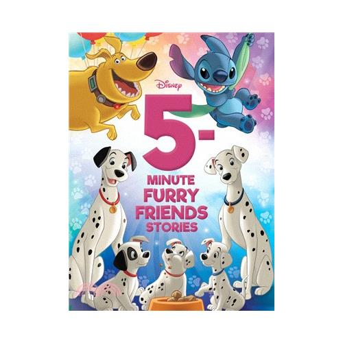 5-Minute Disney Furry Friends Stories【三民網路書店】(精裝)[79折]