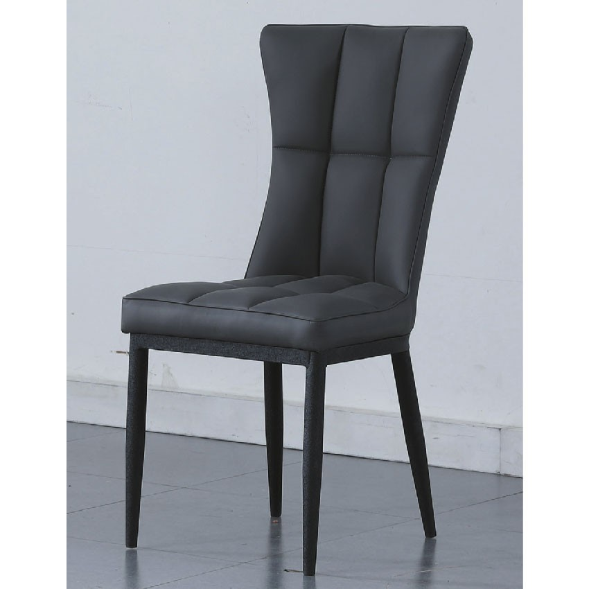 50cm餐椅-e760-2餐椅 北歐工業風 書桌椅 長凳 實木椅 皮椅布椅 餐廳吧檯椅 會議椅金滿