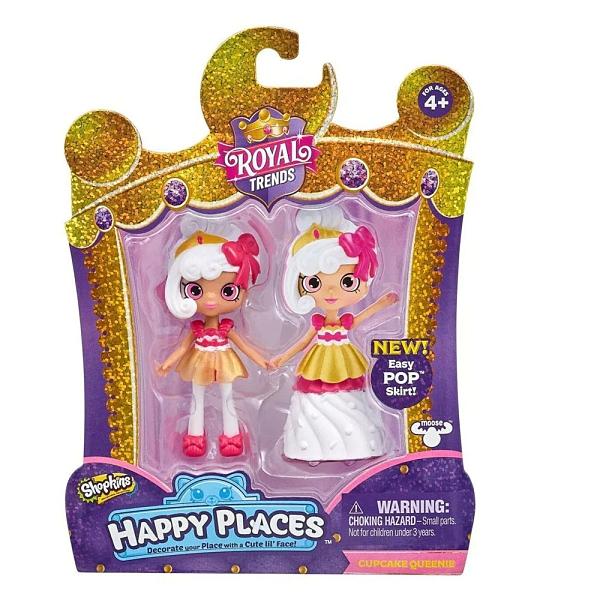 HAPPY PLACES ROYAL TRENDS-SHOPKINS 皇宮時尚驚喜派對 杯子蛋糕公主