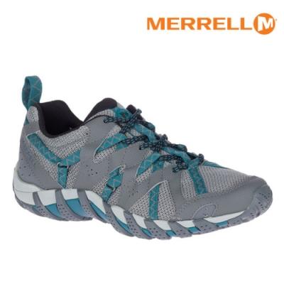MERRELL 女 ML034092 水陸兩棲運動鞋 WATERPRO MAIPO 2 【鐵灰-藍綠】