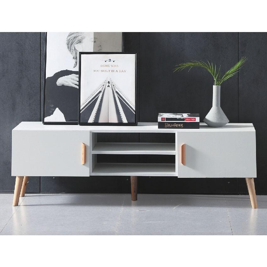 140cm電視櫃-e426-4客廳組合長櫃 展示收納櫃 北歐工業風 tv櫃 金滿屋