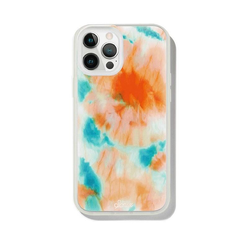 iPhone 12 Pro Max 螢光釉藍抗菌軍規防摔手機保護殼