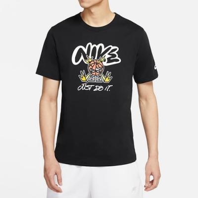 NIKE 上衣 短袖上衣 運動 慢跑 健身 男款 黑 DJ5362-010