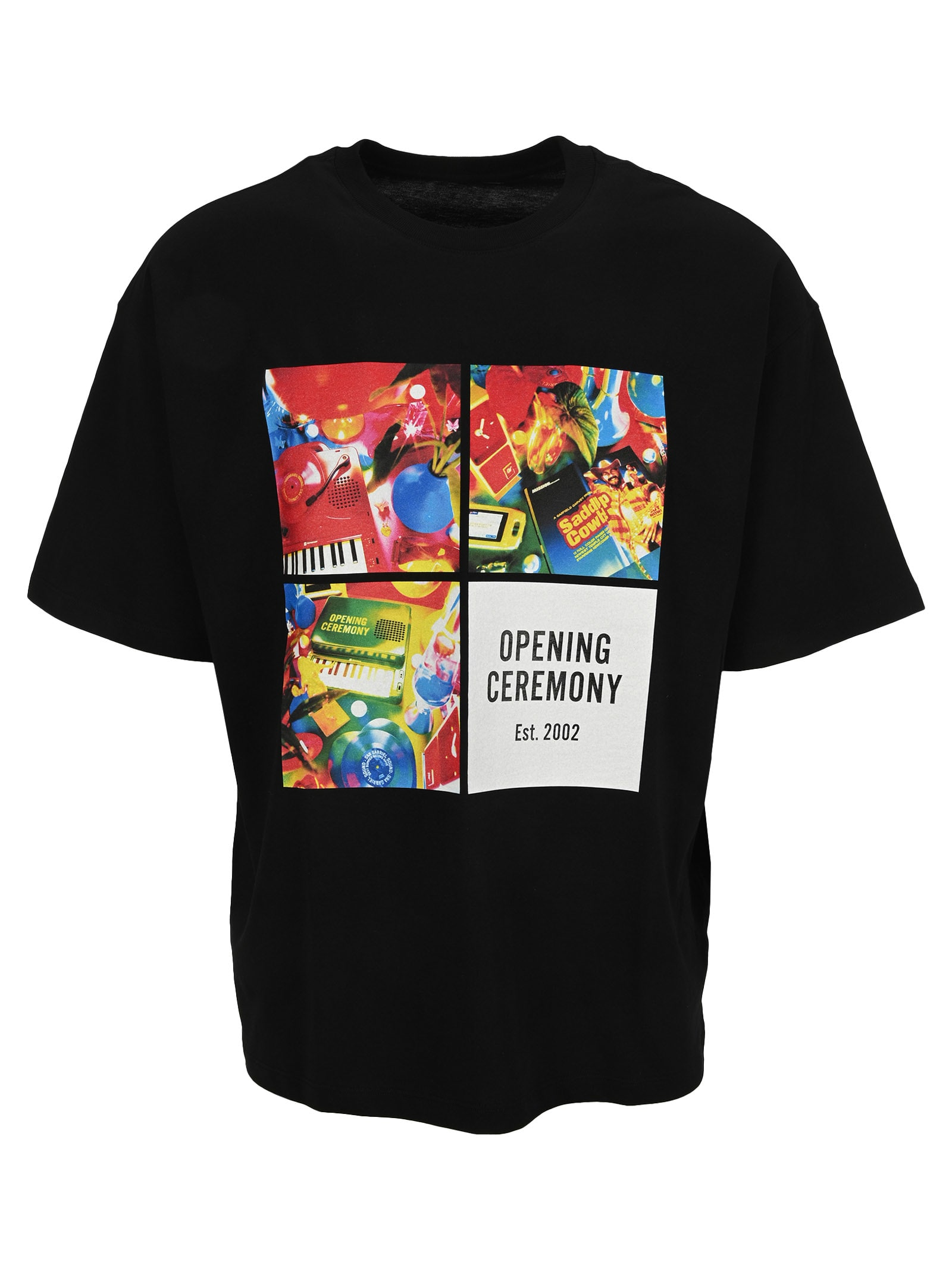 Opening Ceremony 4 Boxes Print S/s T-shirt