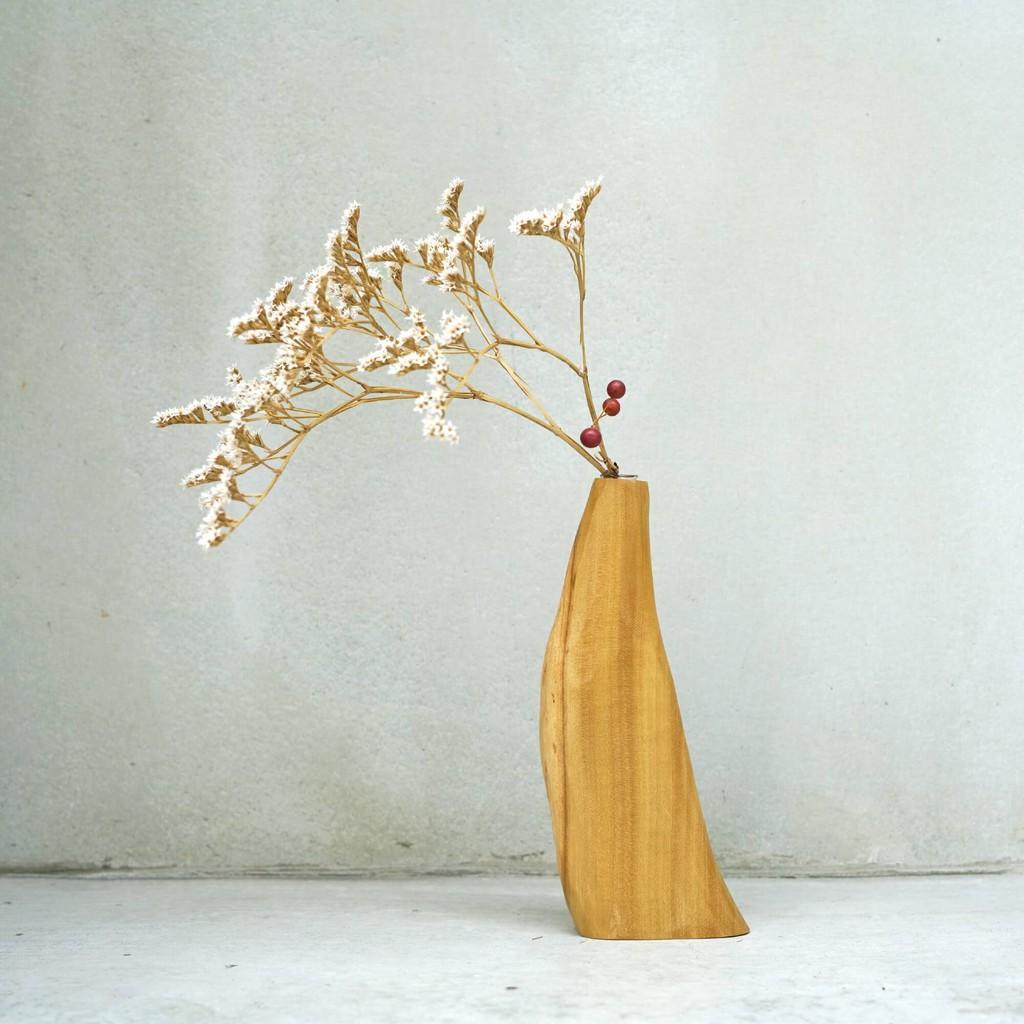 有木 木工房 烏心石手塑花器 252 MIT台灣在地工藝家製造