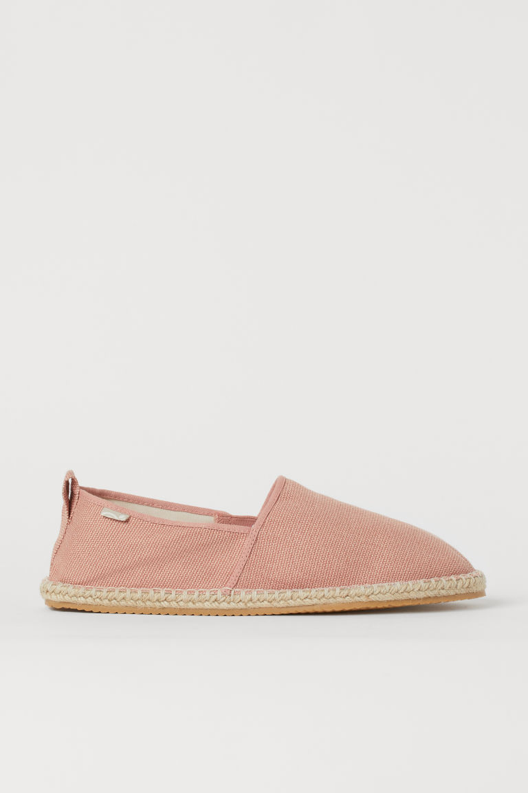 H & M - 草編鞋 - 橙色