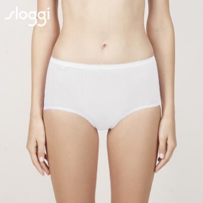 sloggi Comfort 高腰小褲買3送1促銷包 純淨白 C76-801 GT
