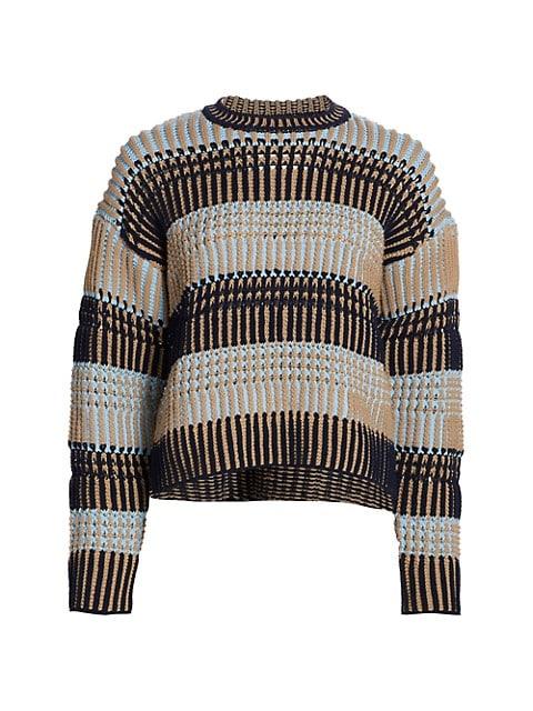 Bold Striped Sweater