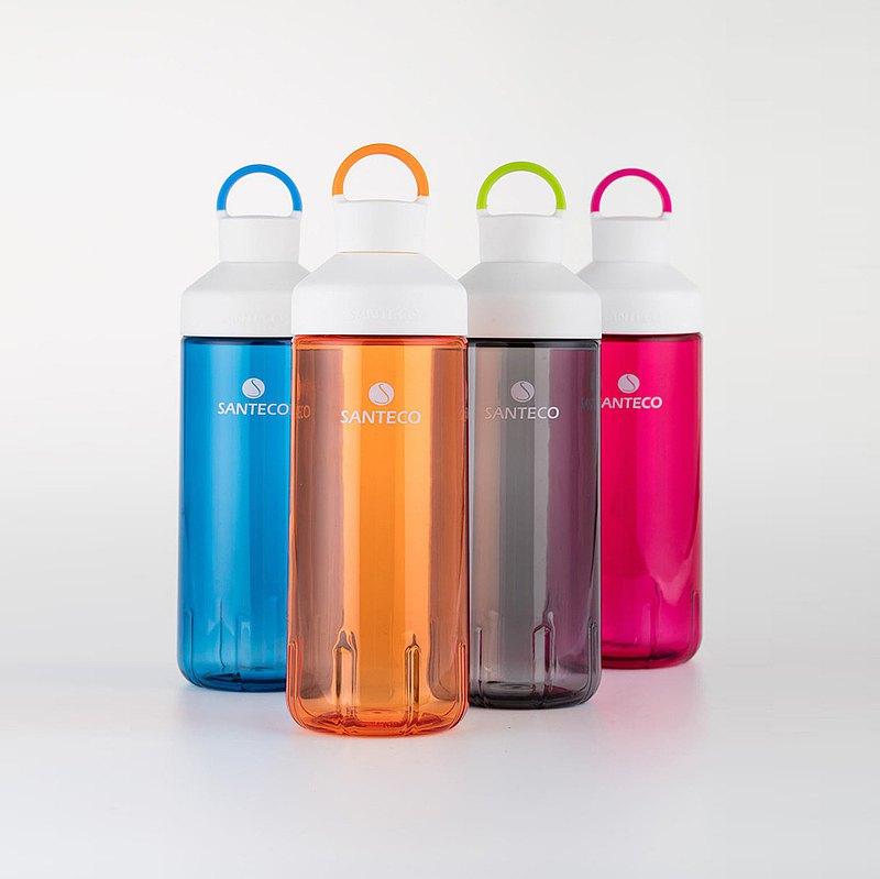 1+1組合優惠 | SANTECO OCEAN TRITAN 單層冷水瓶 710ml | 4色可