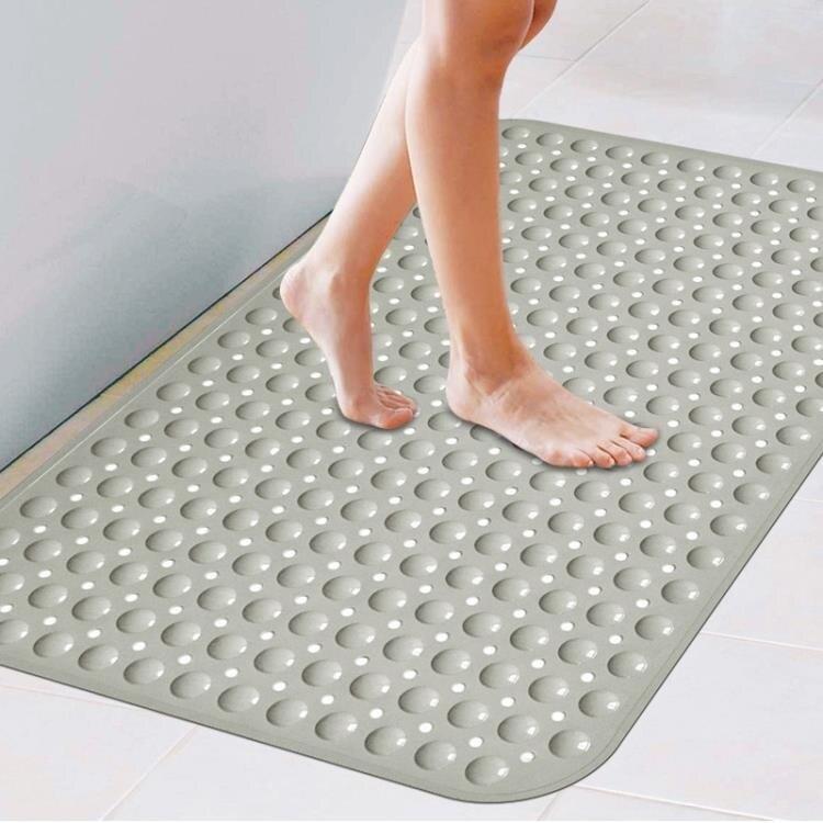 色洗澡間防滑墊浴室墊子衛生間地墊淋浴腳墊家用隔水廁所墊