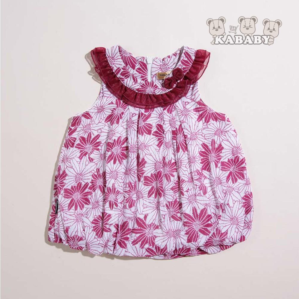 【金安德森】KA無袖時尚花朵印花上衣(共二色)