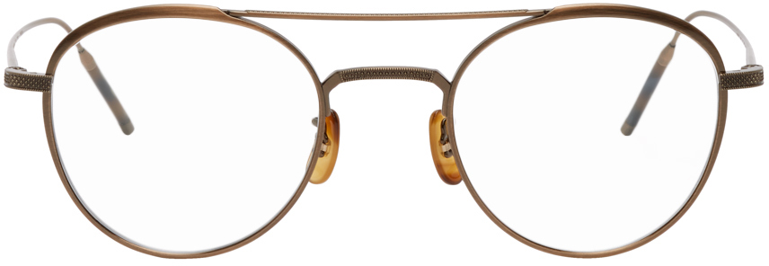 Oliver Peoples 金色 Takumi 系列 TK-2 眼镜