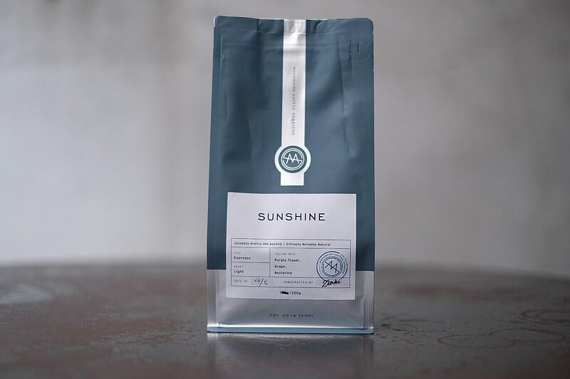moonshine coffee roasters - 季節淺焙配方 - 日光(200g / 袋)