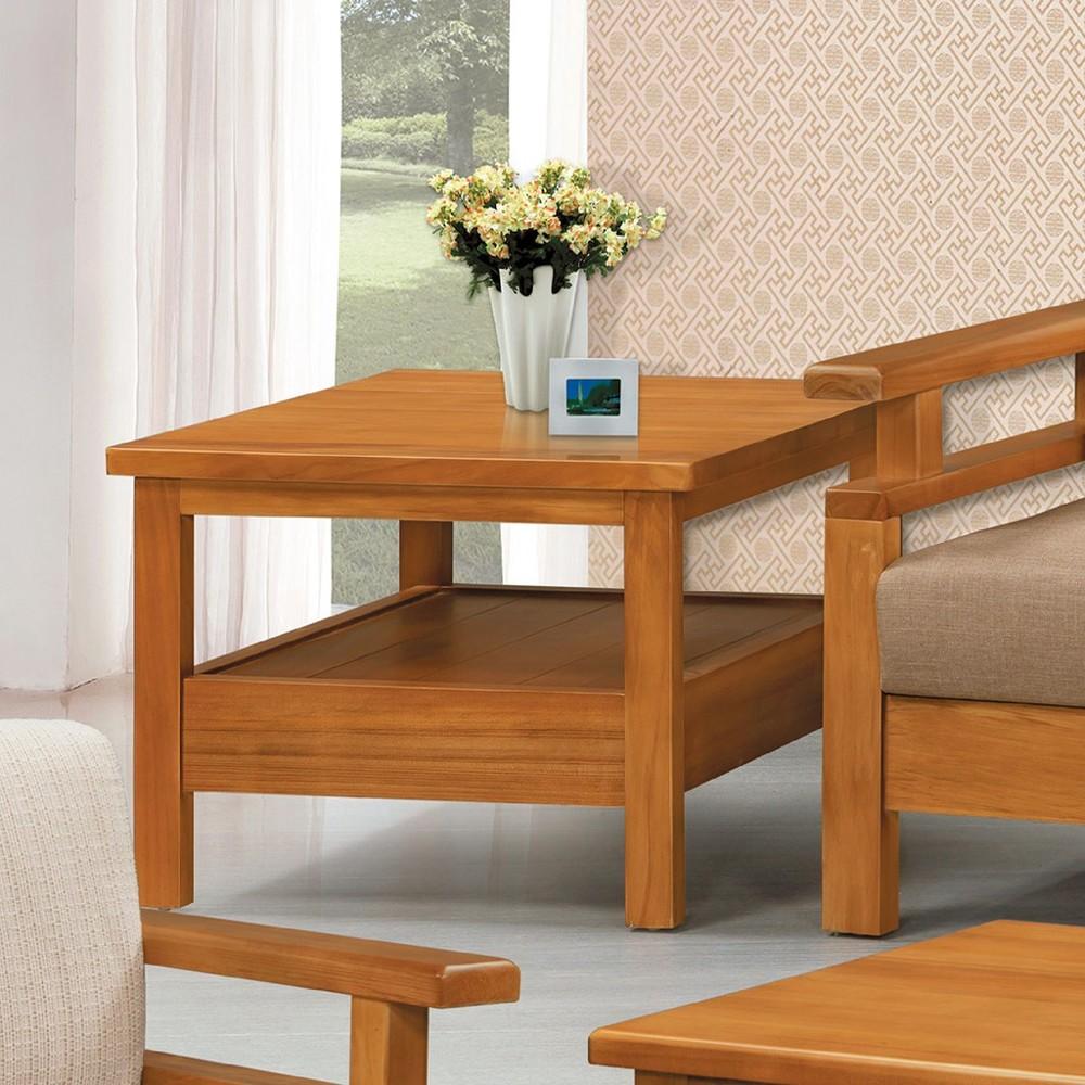 73cm小茶几-c630-6實木原木玻璃 大理石長方桌 大小邊几 圓桌  金滿屋