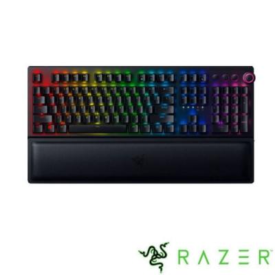 Razer 雷蛇 黑寡婦蜘幻彩版鍵盤 V3 Pro 黃軸