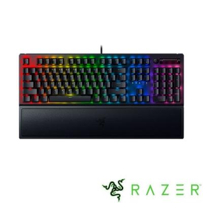 Razer 雷蛇 黑寡婦蜘幻彩版鍵盤 V3 綠軸