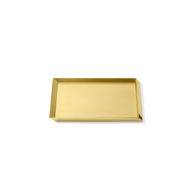 Axonometry - A4 Tray Polished Brass