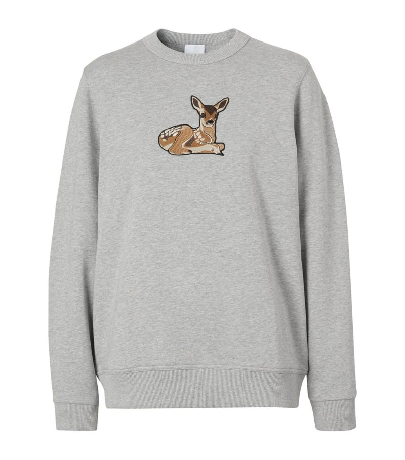 Burberry Deer-Motif Jumper