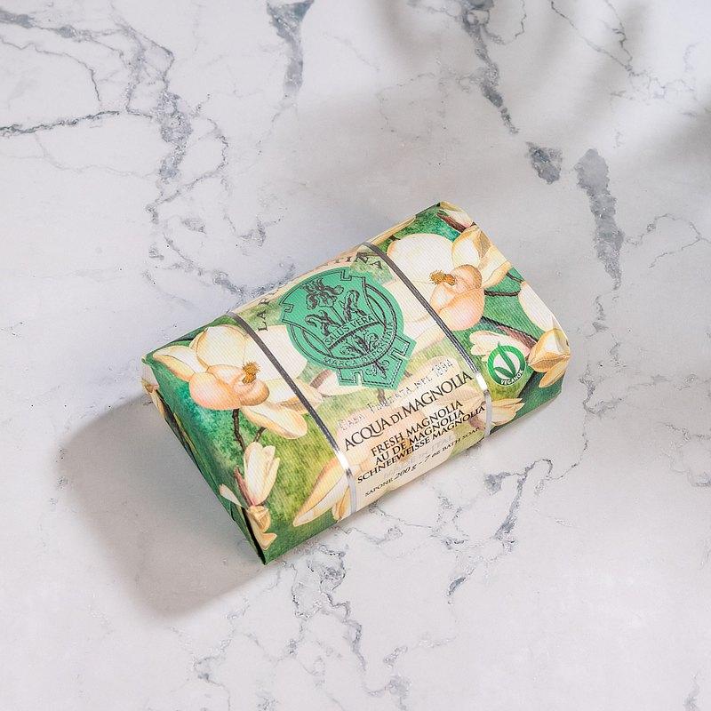 義大利手工香氛皂 200g-清新木蘭花