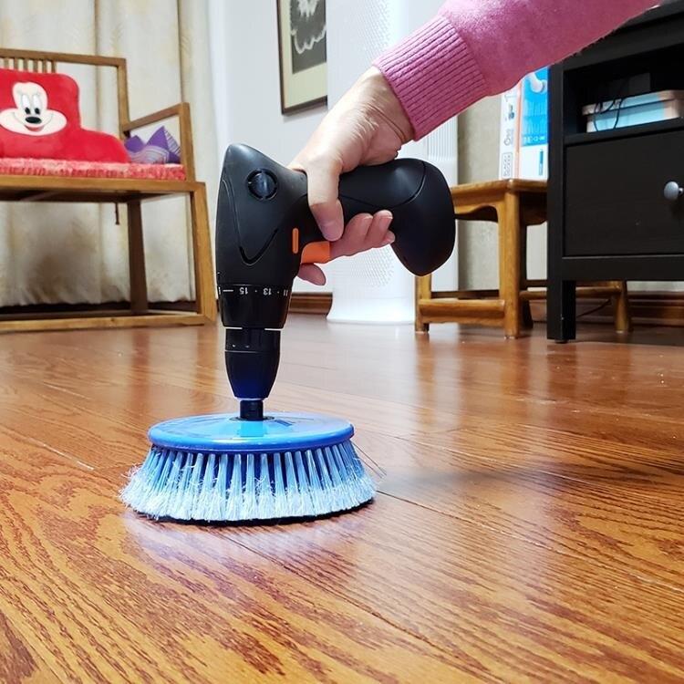 清潔刷 家務電動清潔廚房用刷衛生間花崗巖地板瓷磚牆布壁紙除塵護理套餐