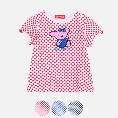 WHY AND 1/2 mini 點點棉質萊卡T恤 多色可選 1Y ~ 4Y