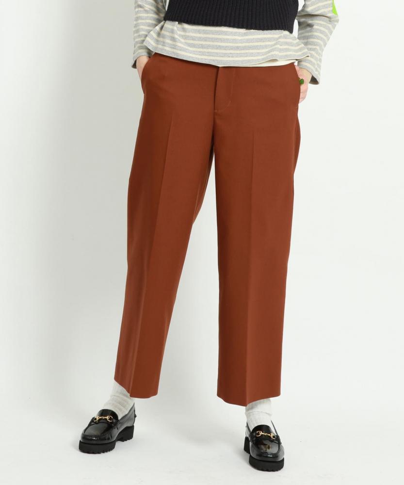 BEAMS BOY / 女裝 Solid 寬版 西裝褲