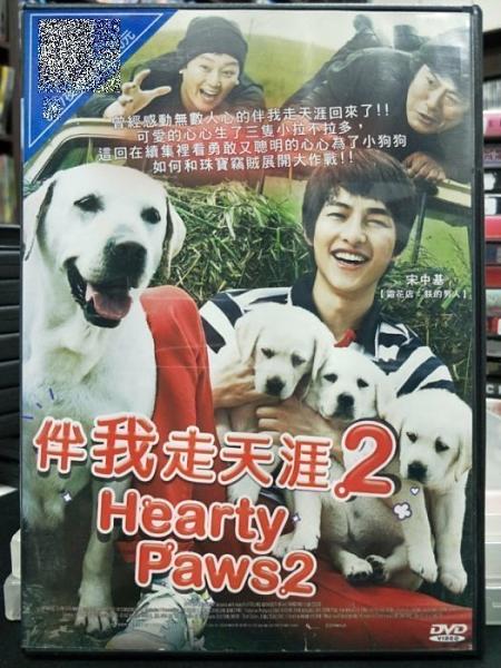 挖寶二手片-C09-007-正版DVD-韓片【伴我走天涯2】-宋仲基(直購價)