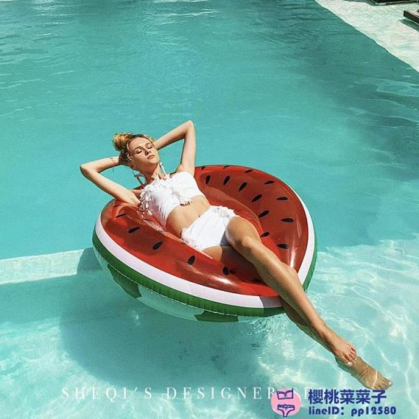 泳衣女比基尼性感三點式小胸聚攏分體ig網美游泳衣大碼泳裝品牌【櫻桃】