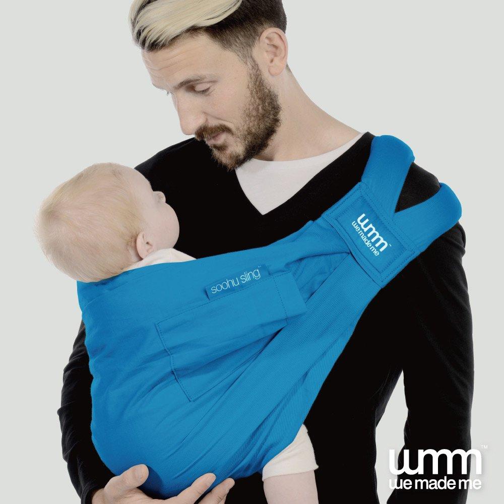 英國 WMM Smile 舒服 5 式親密揹巾 輕盈版 - 土耳其藍 (盒損品)