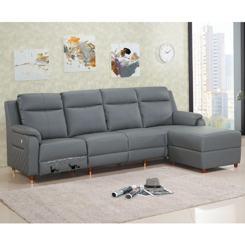 270cm面左l型皮沙發-c646-2 l型沙發 貓抓皮 布沙發 沙發床 沙發椅 金滿屋
