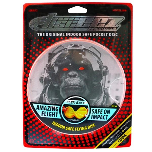 DISCEEZ 同行飛碟 室內飛盤 S2-6 ASTRO CHIMP 黑猩猩太空人