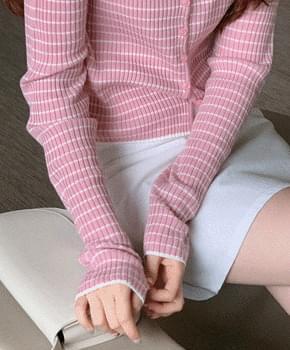 韓國空運 - Striped Cardigan 針織外套