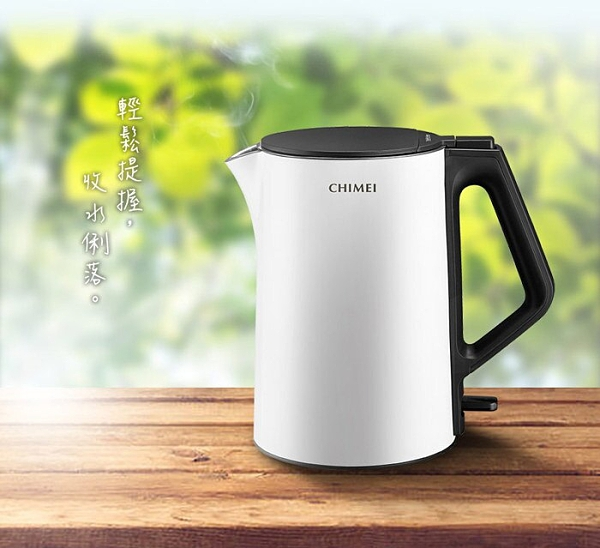 CHIMEI 奇美 1.5L三層防燙不鏽鋼快煮壺(KT-15GP00) (顏色隨機出貨)