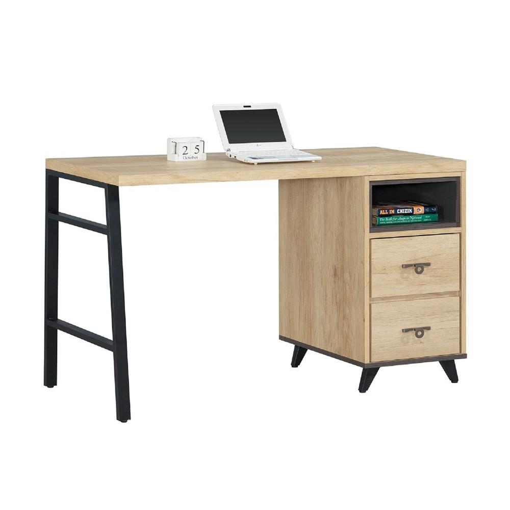127cm書桌-c736-7工作桌 辦公桌 學生書桌 主管桌 書櫃型書桌金滿屋