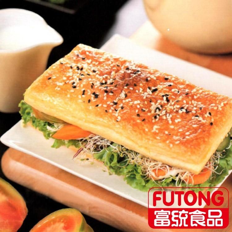 富統食品皇家西式燒餅(全素)10片(650g/盒)