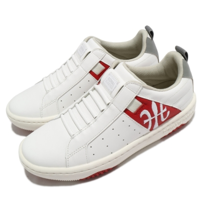Royal Elastics 休閒鞋 Icon 2.0 套腳 運動 女鞋 基本款 皮革 簡約 舒適 球鞋 川搭 白 紅 96512018