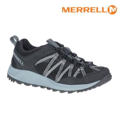 MERRELL 女 ML036152 水陸兩棲運動鞋 WILDWOOD AEROSPORT【黑-灰】