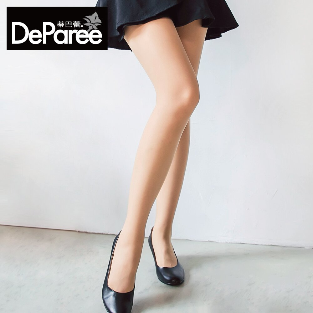 Deparee蒂巴蕾 T韌 長效菁軔 彈性絲襪 (淺膚/膚)