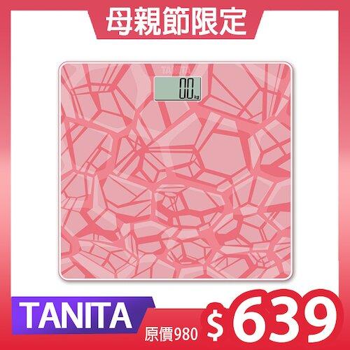 TANITA  電子體重計 HD380(粉)