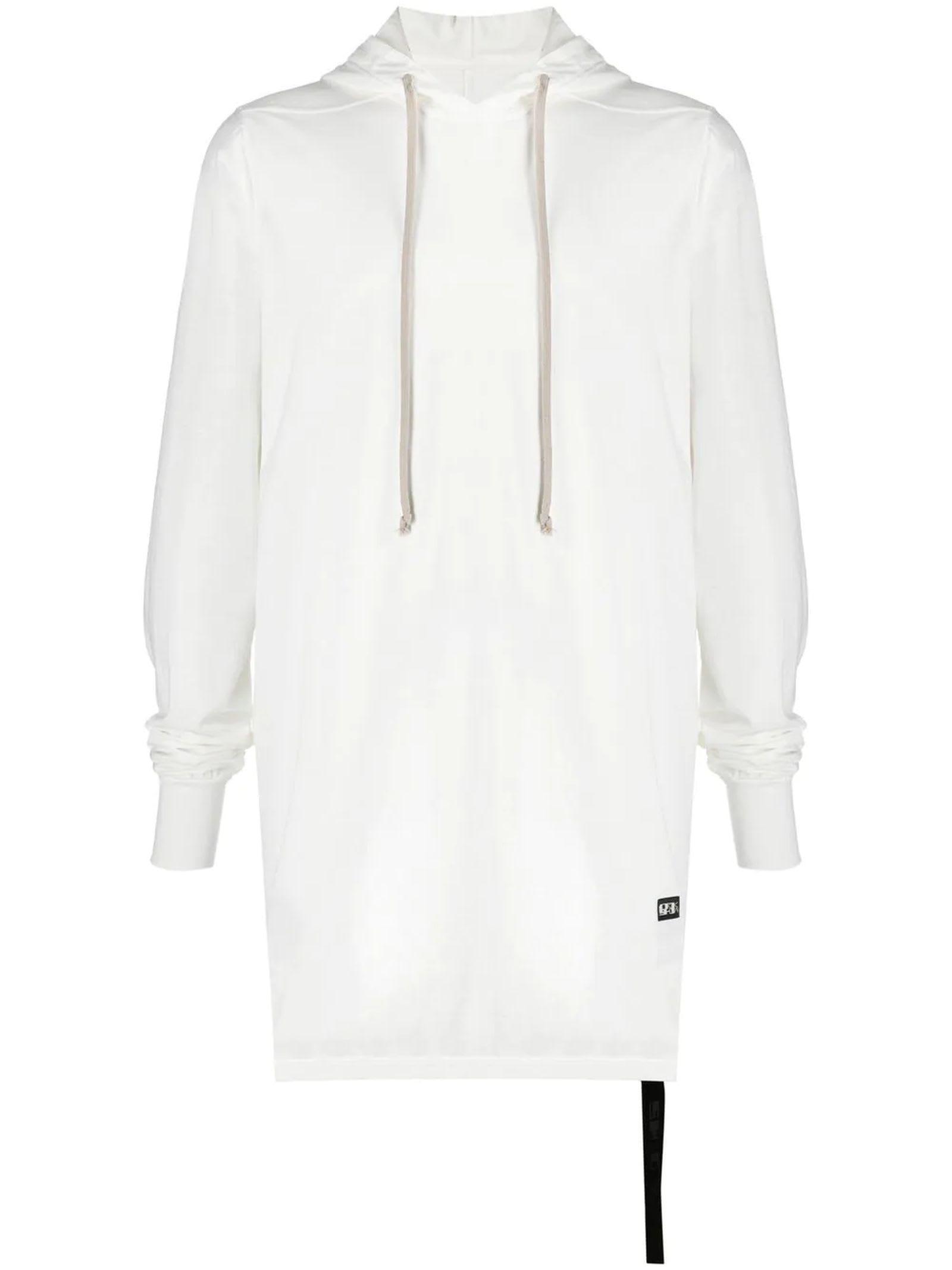 DRKSHDW White Cotton Hoodie