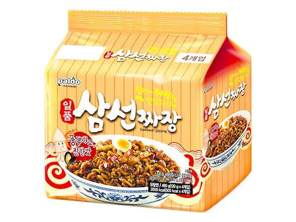 韓國 八道 Paldo~御膳三鮮炸醬麵(120gx4入)【DS001024】