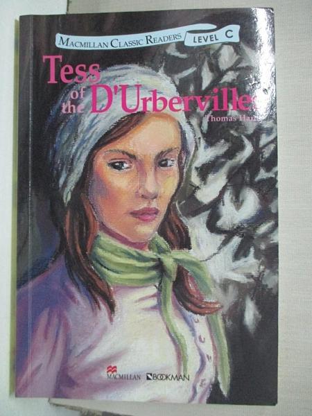 【書寶二手書T1/原文小說_CCC】黛絲姑娘Tess of the D Urbervilles