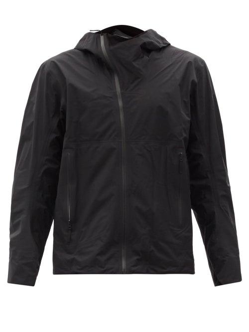 Veilance - Deploy Asymmetric Technical-shell Hooded Jacket - Mens - Black