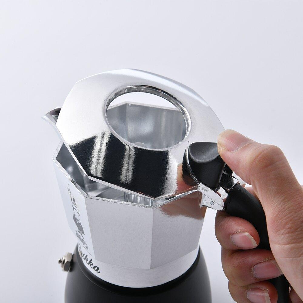 【義大利Bialetti】Brikka 新款加壓摩卡壺 咖啡壺 4人份 升級款